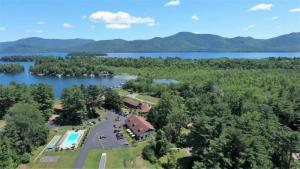 Lake George Waterfront Resort For Sale on almost 7 Acres