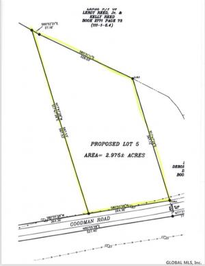 Lot 5 Goodman Rd, Fort Ann, NY 12827
